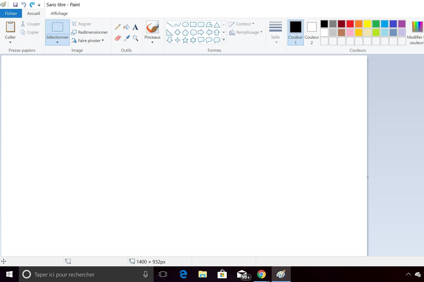 Paint continuera finalement à exister dans Windows