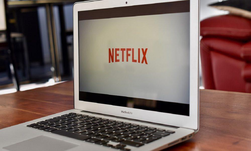 Netflix sur un MacBook Air