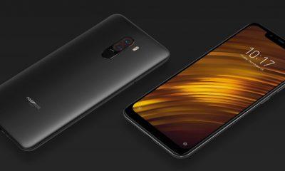 Pocophone F1, capture d'écran sur le site de Xiaomi