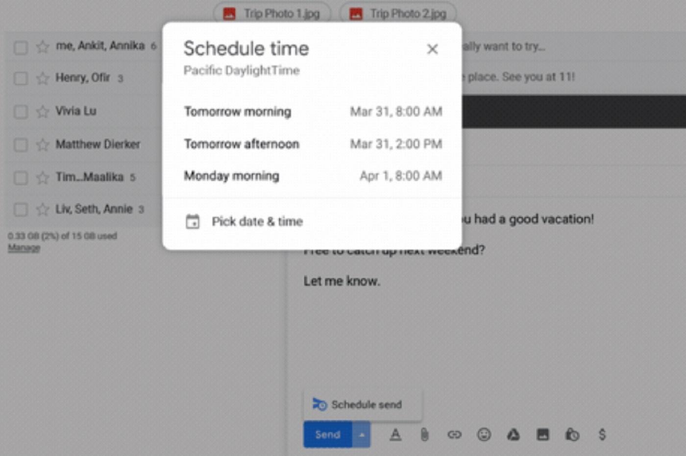 Gmail vous permet enfin de programmer des e-mails