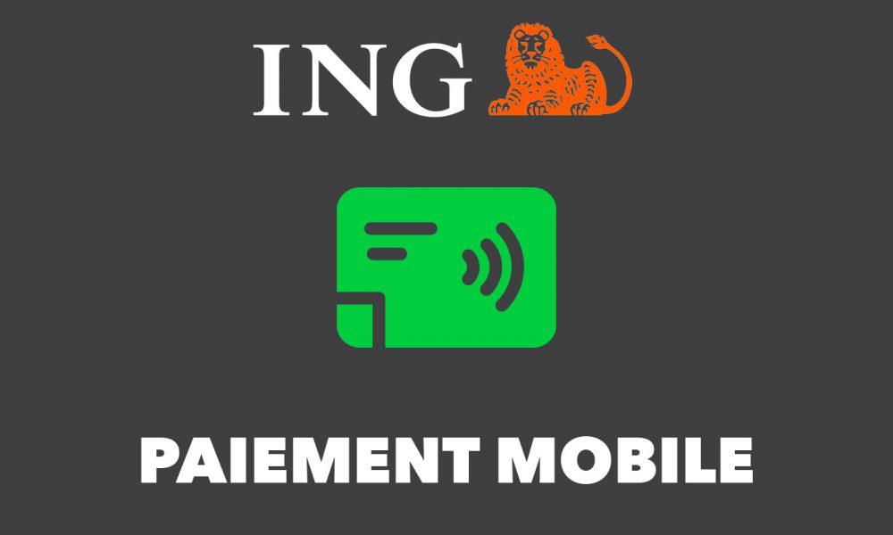 Paiement mobile ING