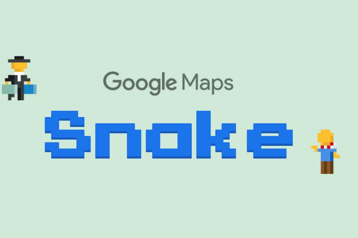 Snake sur Google Maps