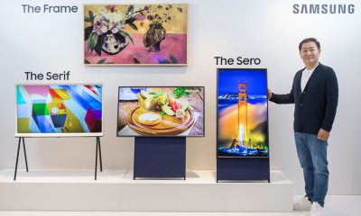 TV sero vertical Samsung