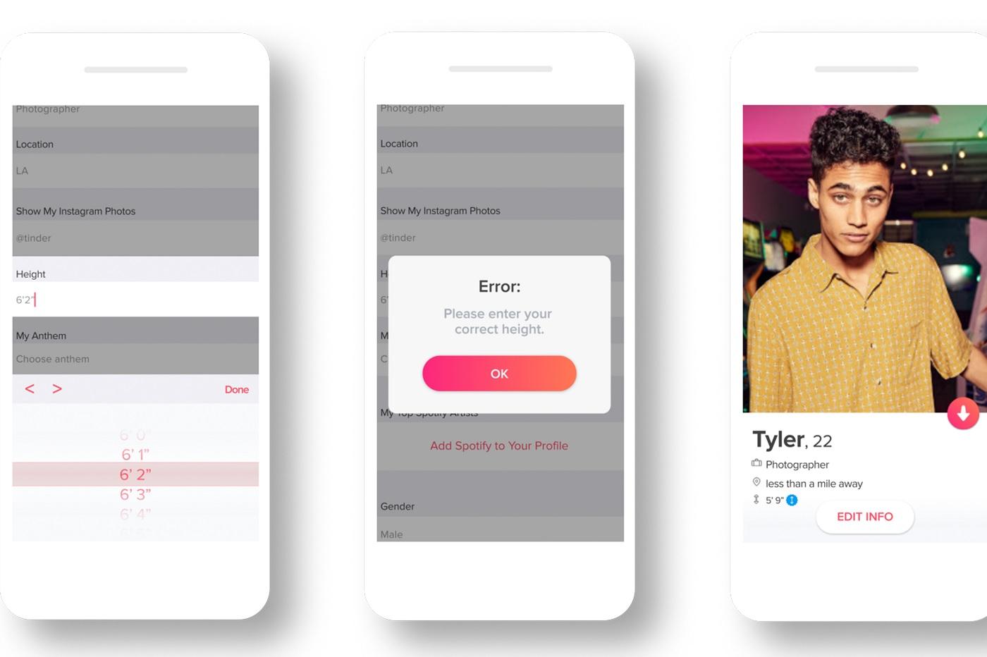 Tinder application de rencontres pour iPad