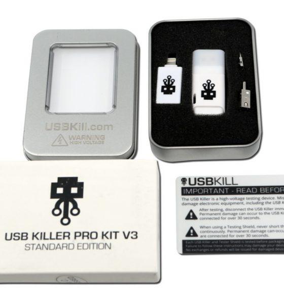 Un étudiant utilise une USB Killer pour détruire des PC de son université