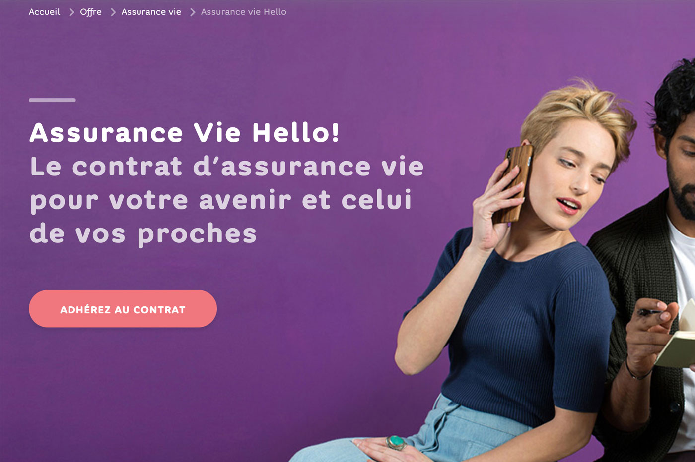 Assurance-vie Hello bank!