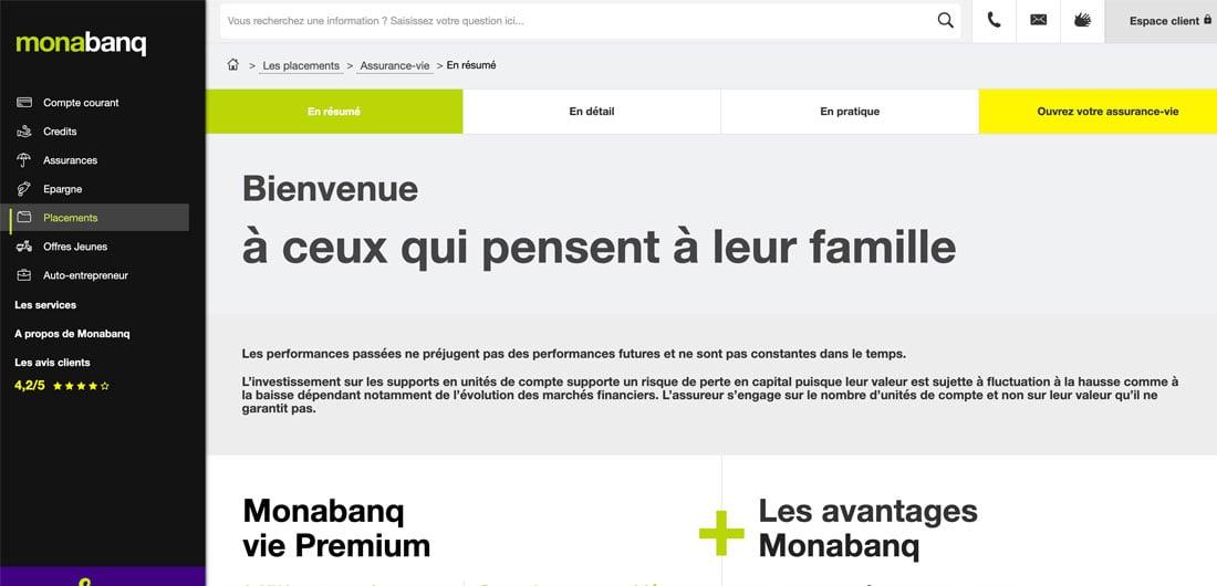 Assurance Vie Monabanq