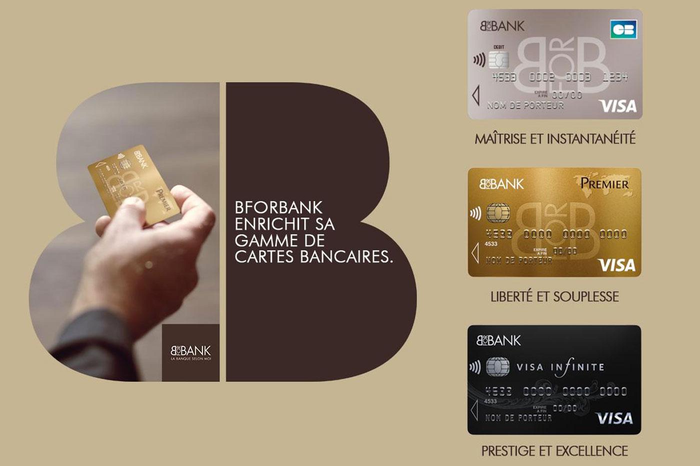 Carte bancaire BforBank