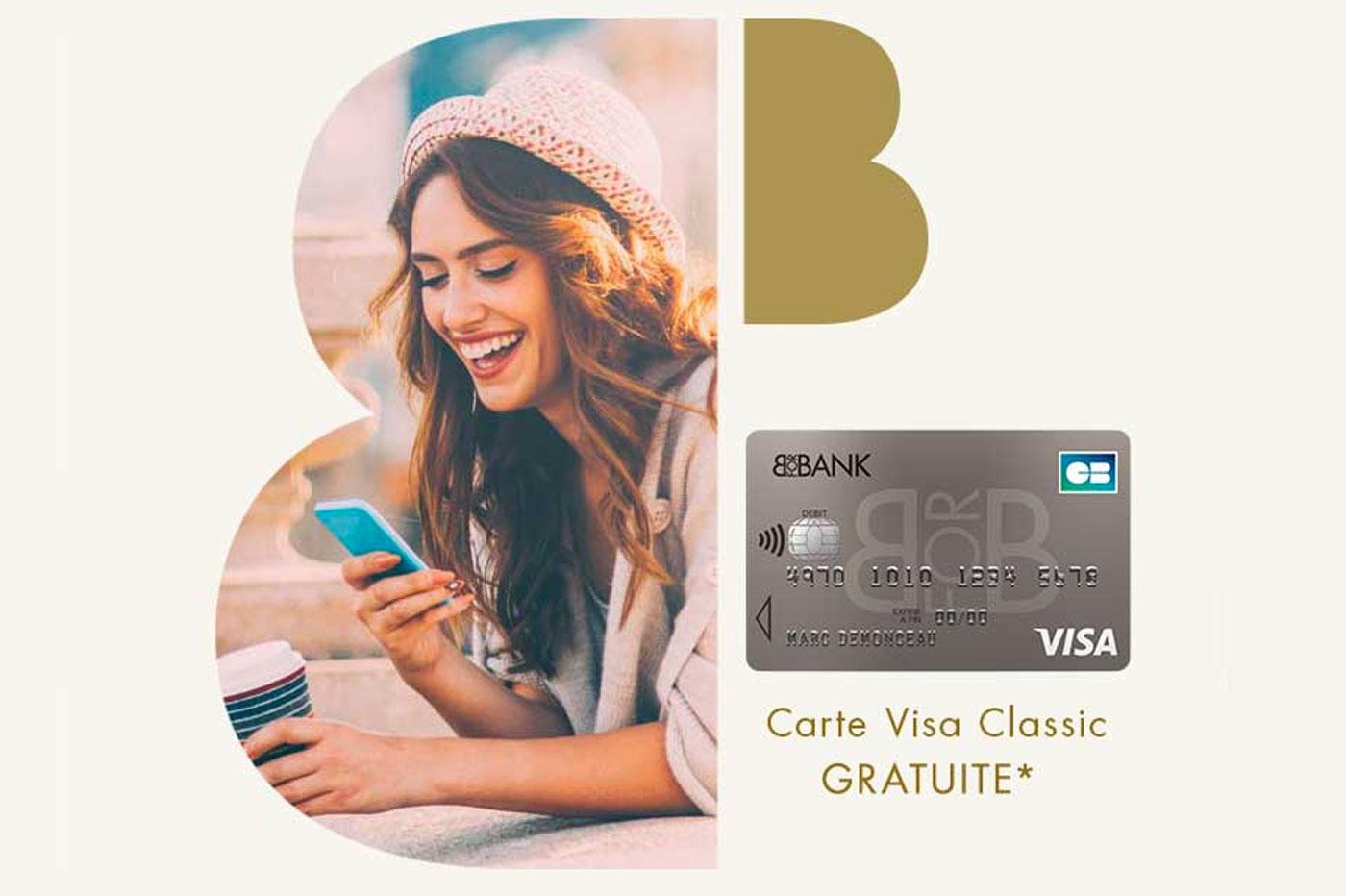 Carte Visa Classic BforBank