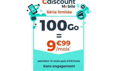 Cdiscount Mobile : forfait