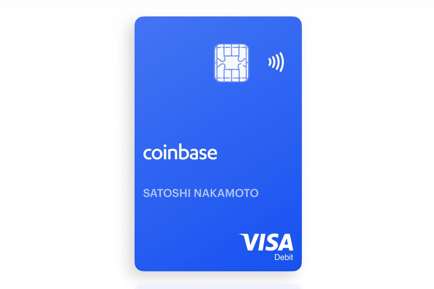 Carte Coinbase