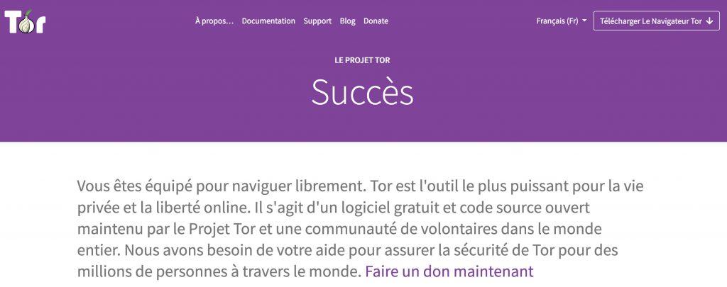 Dark web Tor Project téléchargement