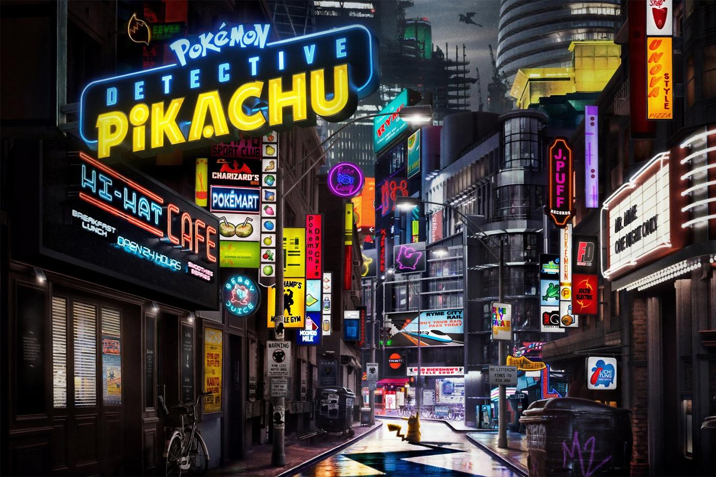 Detective Pikachu : Le Casting des Pokémon présents dans le film