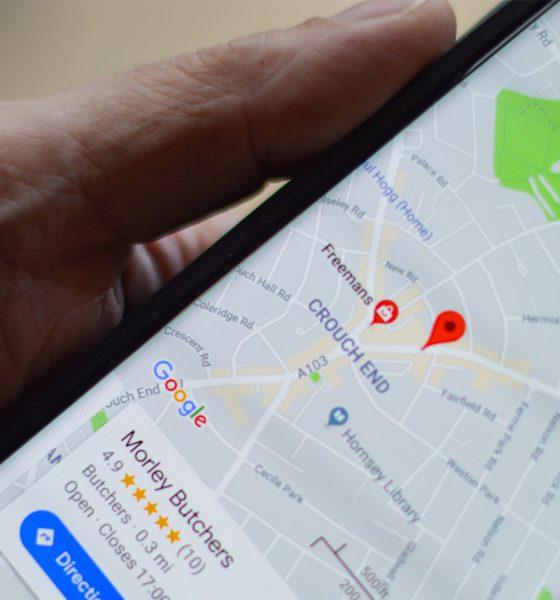 Google Maps police