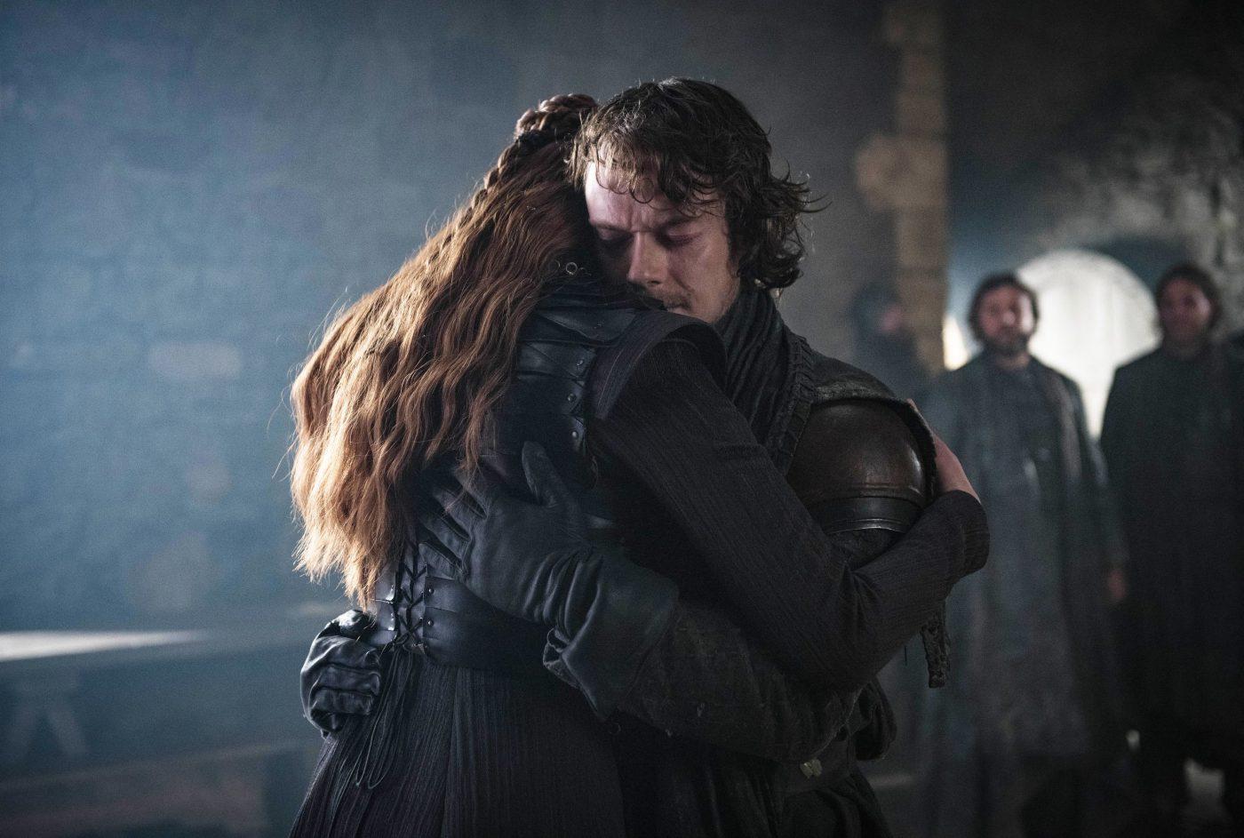 Pourquoi Theon et Sansa nous ont fait essuyer une larme