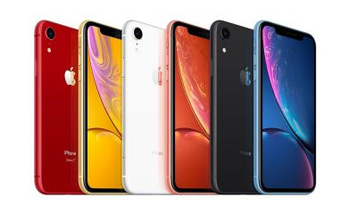 iPhone XR iPad Pro