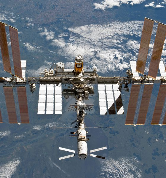 ISS bactéries