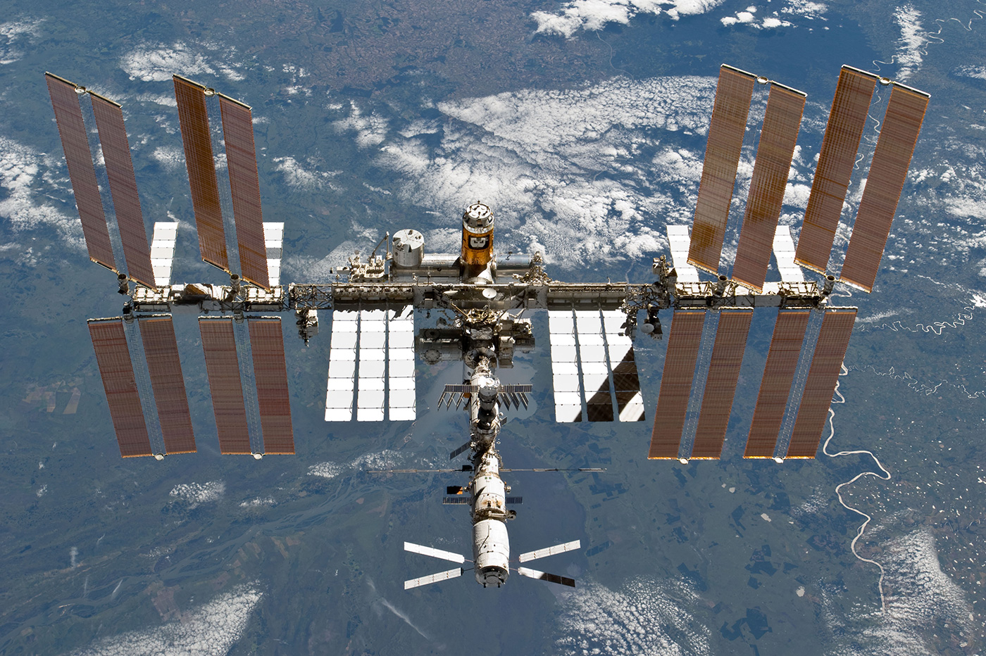 ISS Station spatiale Internationale bactéries