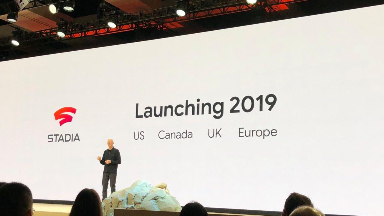 Google Stadia Lancement 2019