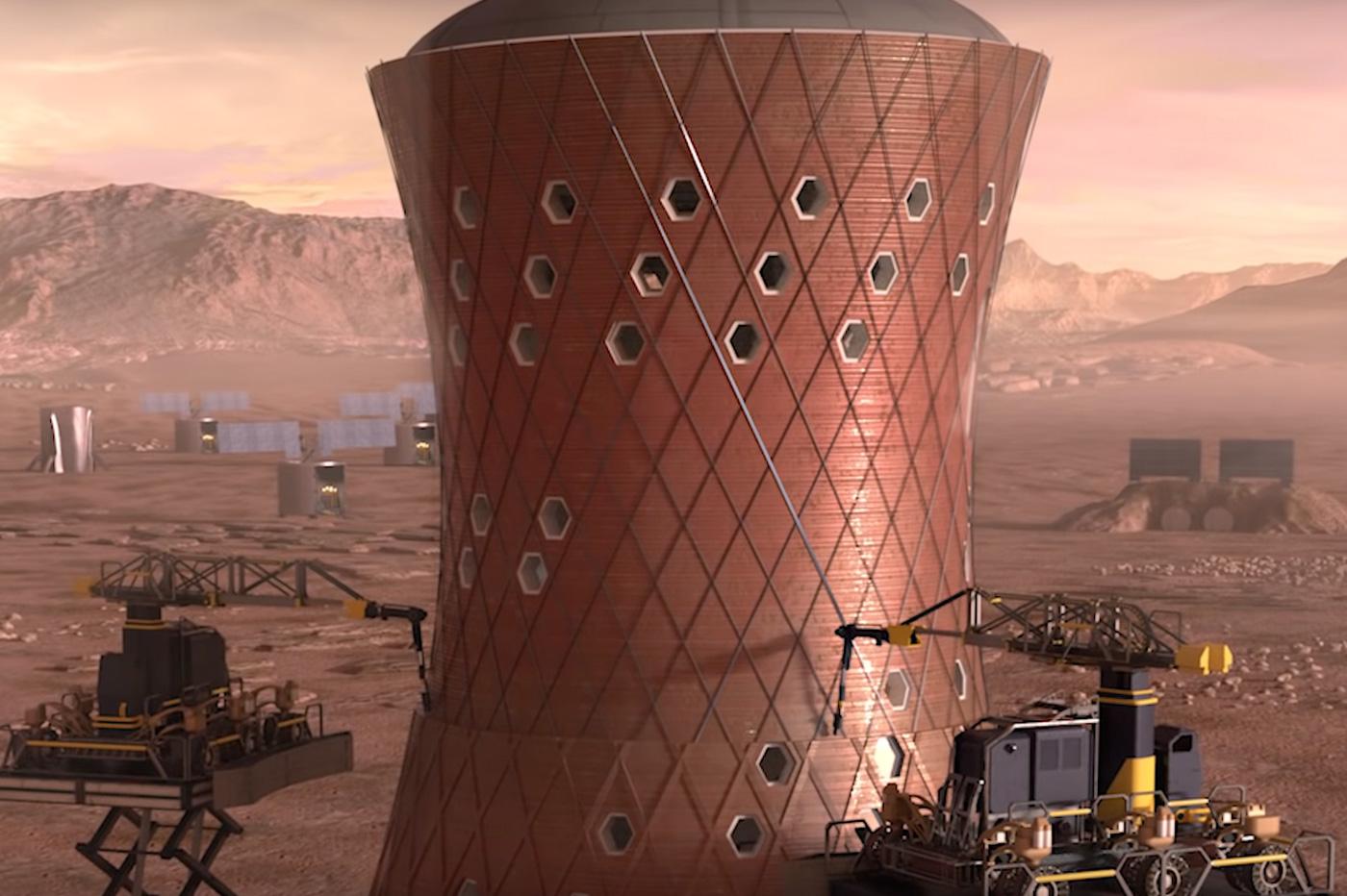 Mars maison NASA