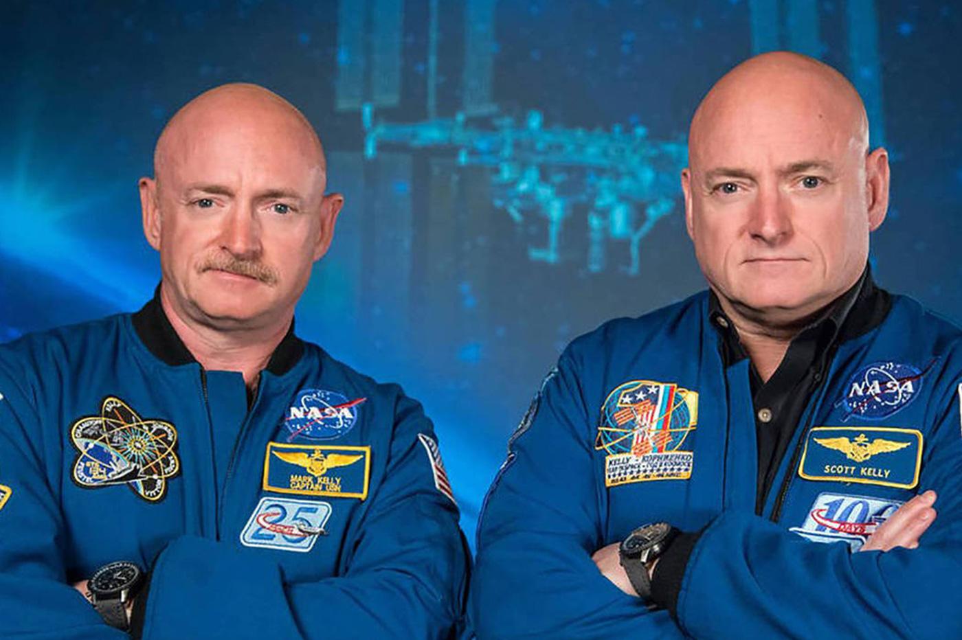 NASA jumeaux espace