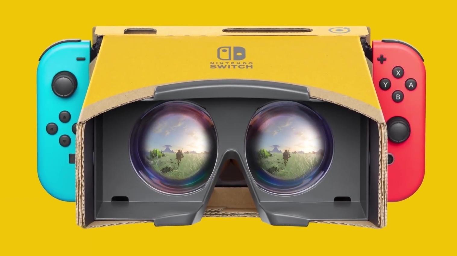 Nintendo Labo VR Casque