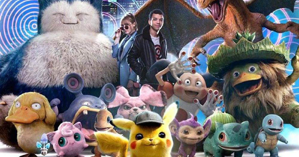 Nouvelle Affiche Détective Pikachu