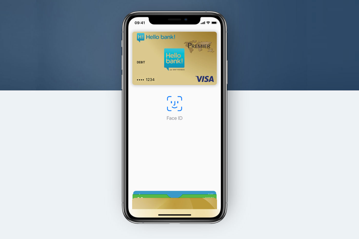 Paiement mobile Hello bank!