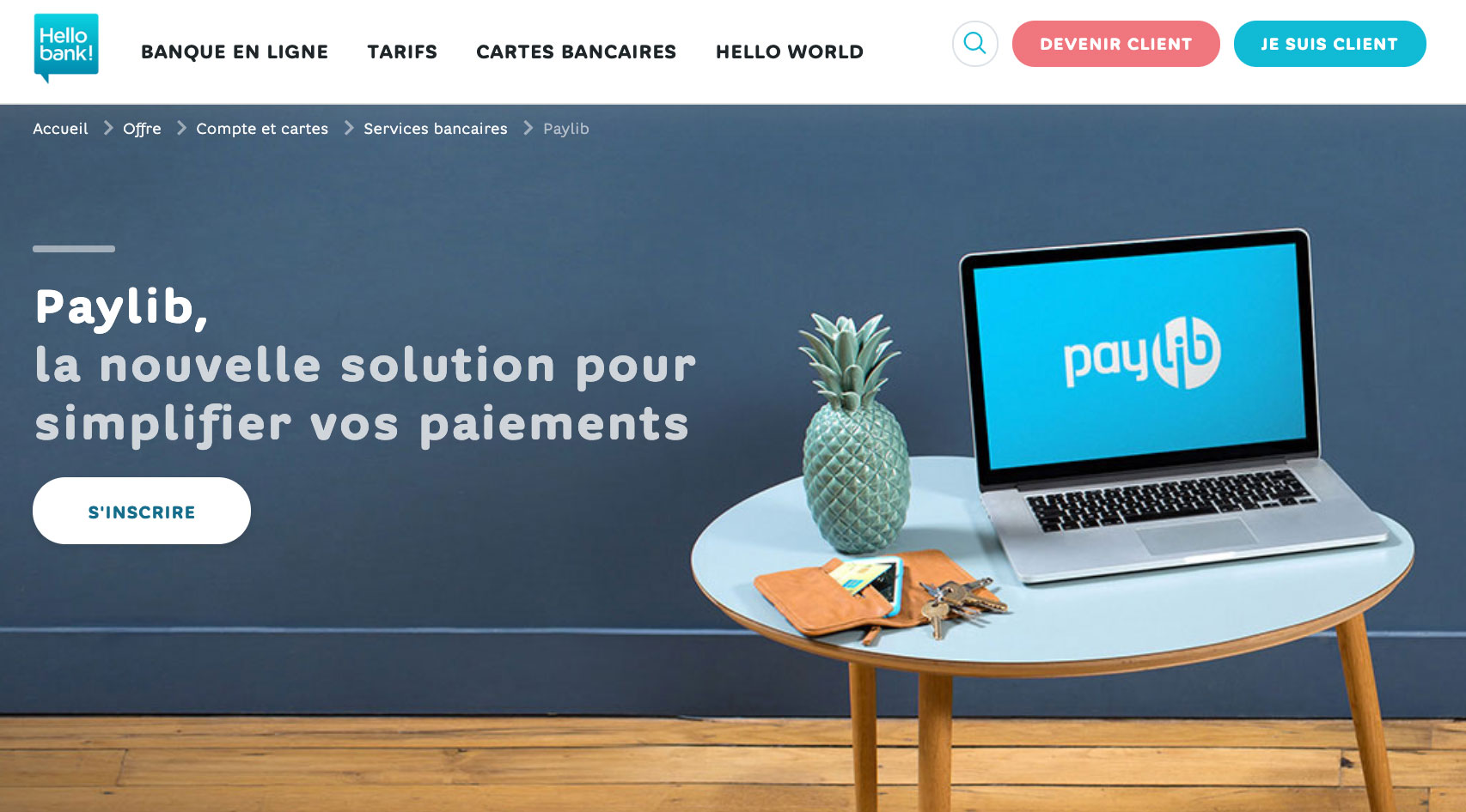 Paylib chez Hello bank!