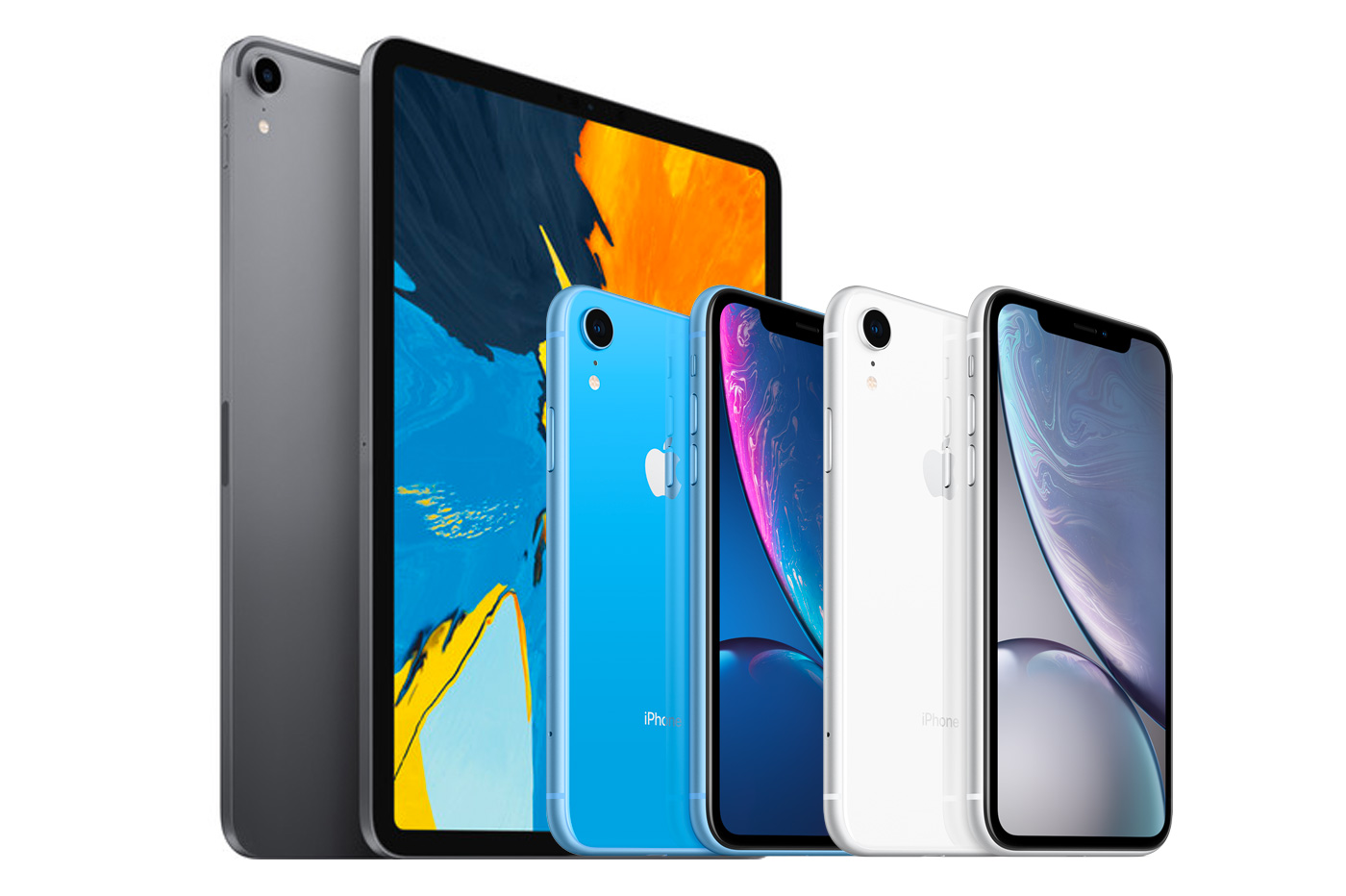promo iphone xr ipad pro