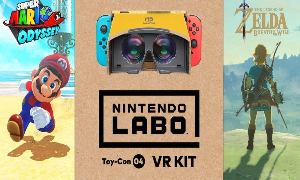 Test Nintendo Labo VR Kit Mario et Zelda