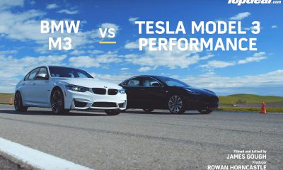 Tesla Model 3 vs BMW M3