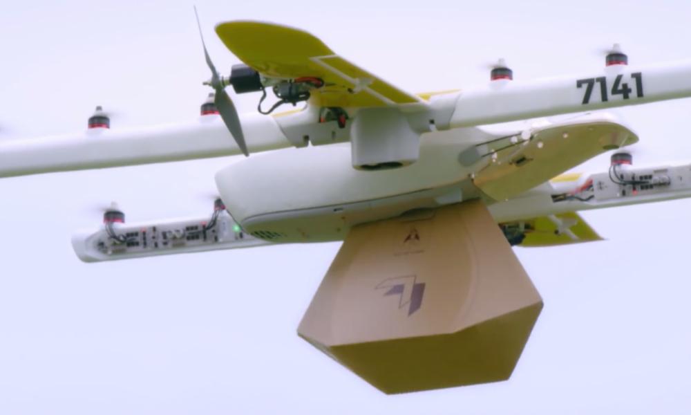 En Australie, les drones livrent aussi du café