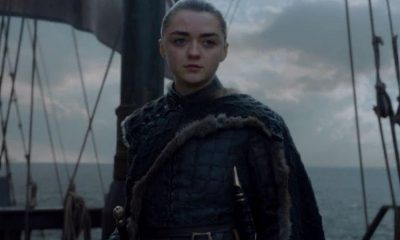 Arya Stark à la fin de Game of Thrones