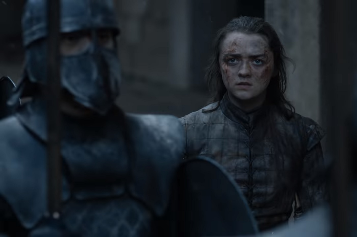 Arya Stark dans le dernier épisode de Game of Thrones