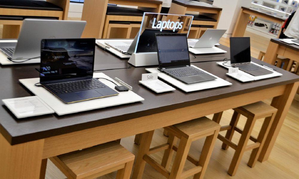 Des ordinateurs laptops Windows 10 Microsoft