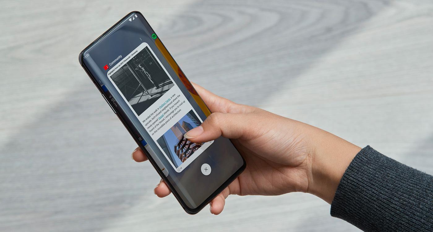 Gestes OnePlus 7 Pro
