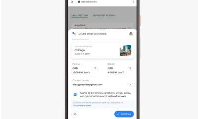 Google Duplex sur le web
