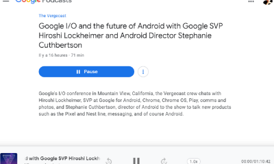 Google Podcasts sur le web