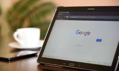 Google sur une tablette Samsung