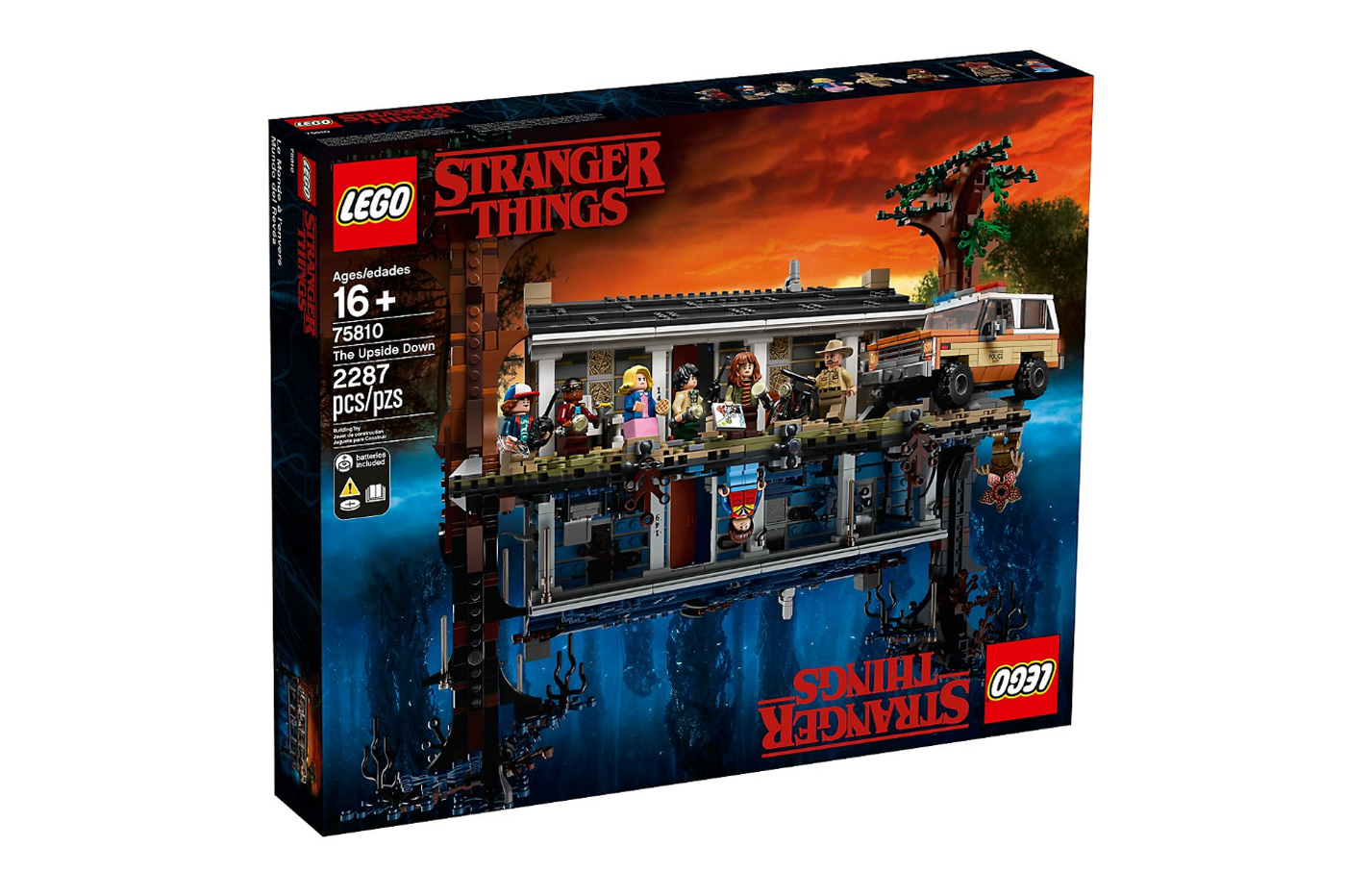 LEGO lance un set impressionnant dédié à Stranger Things