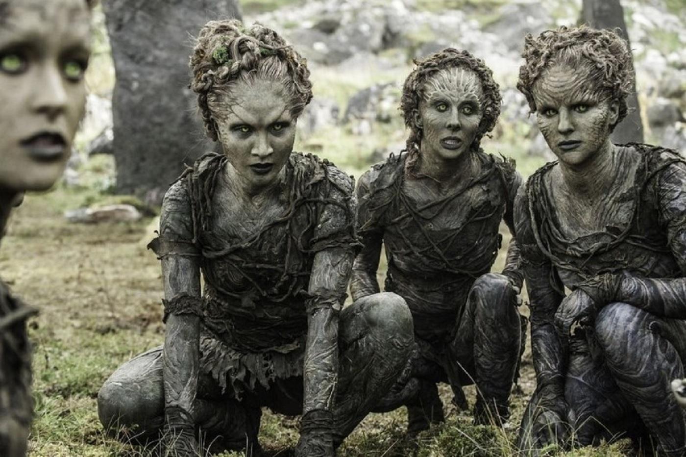 Les enfants de la Forêt dans Game of Thrones