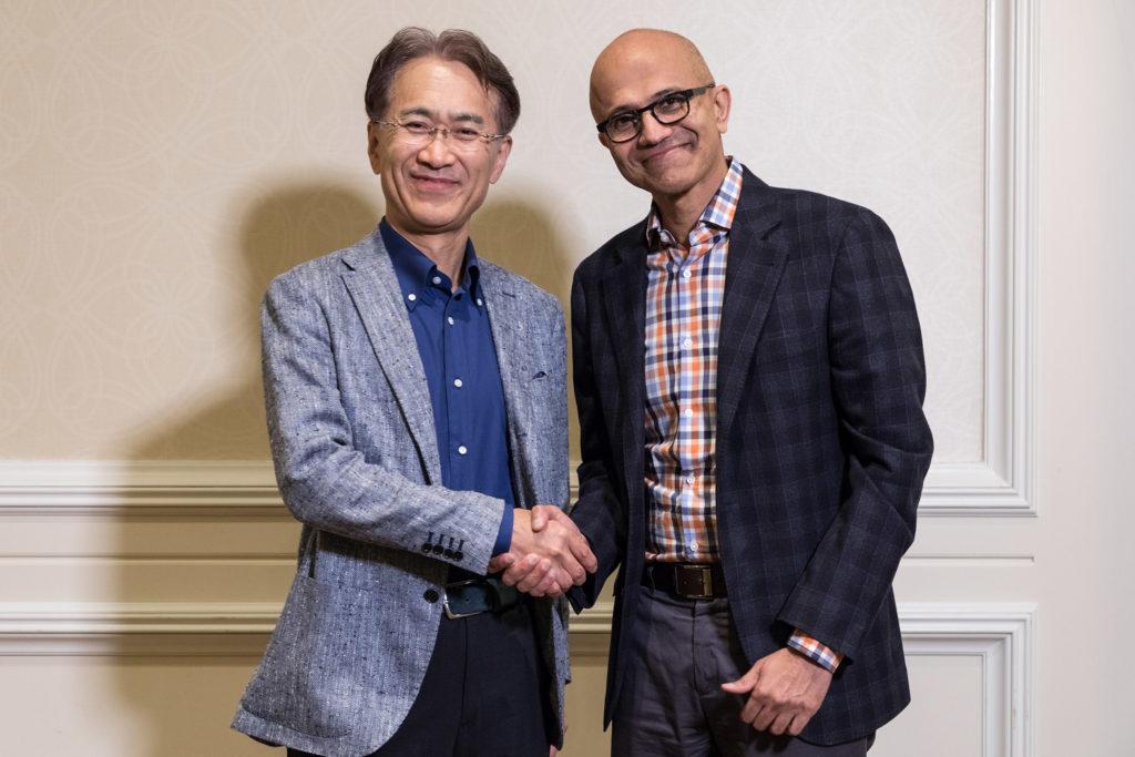 President Sony et Microsoft