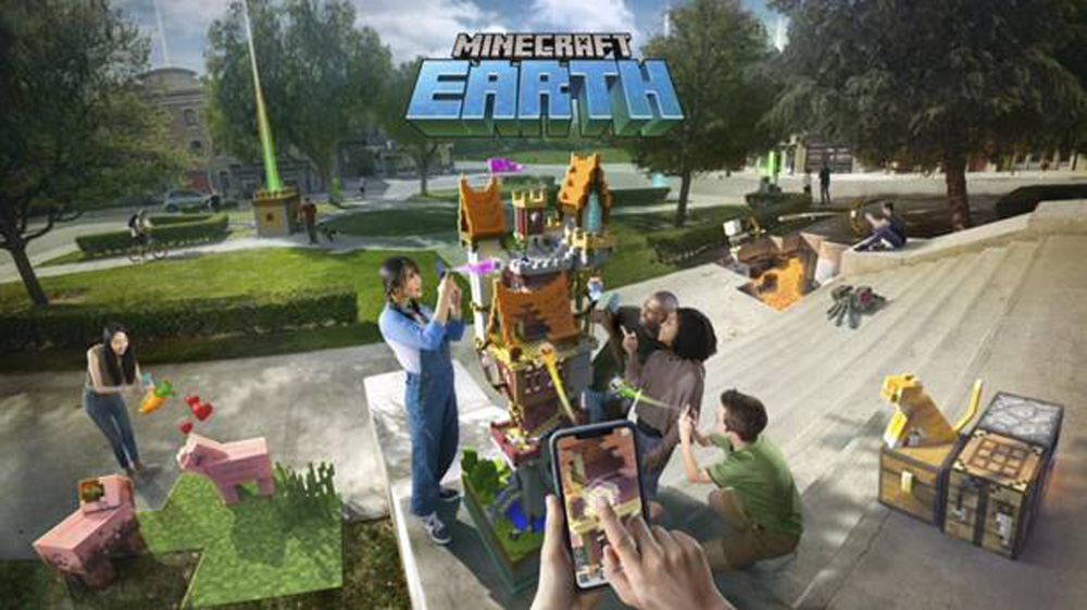 Minecraft-Earth