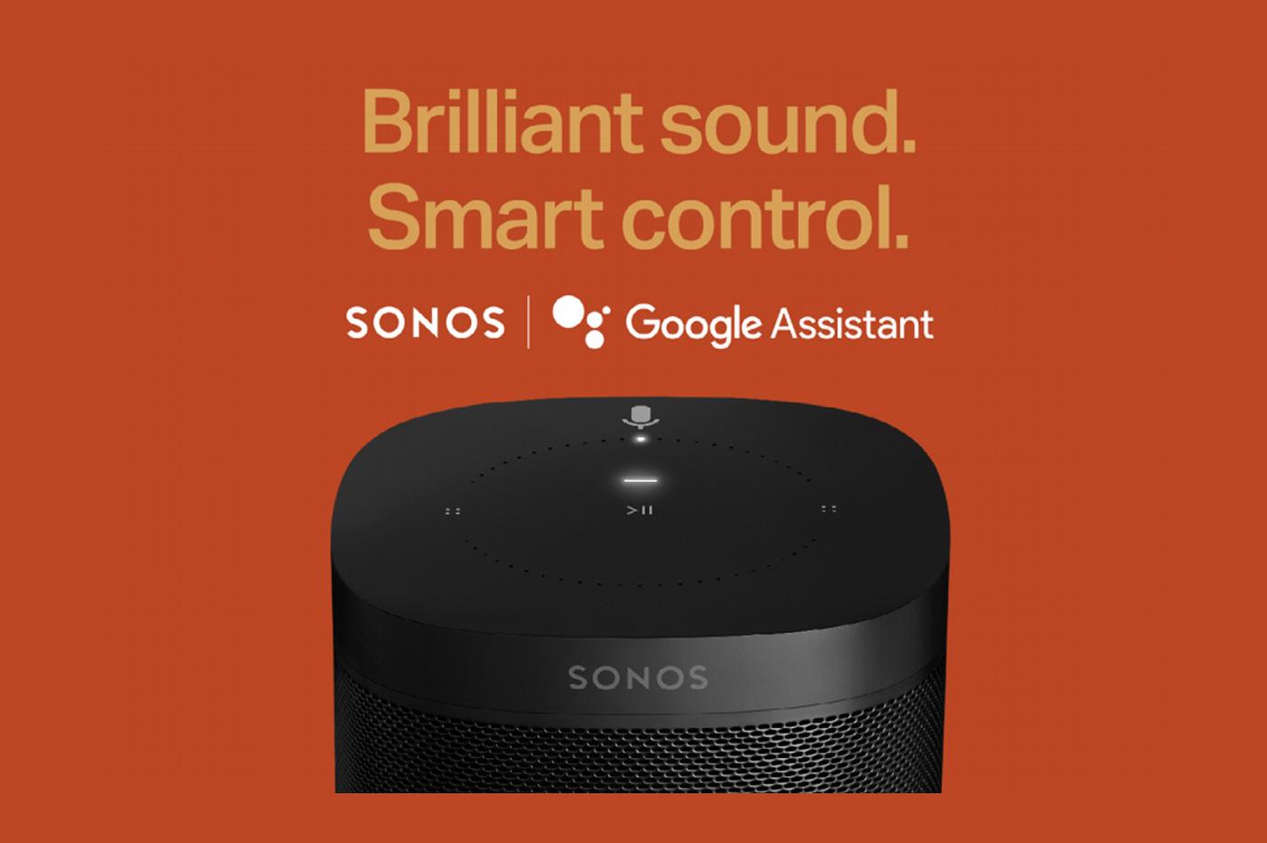 Sonos-Google-Assistant