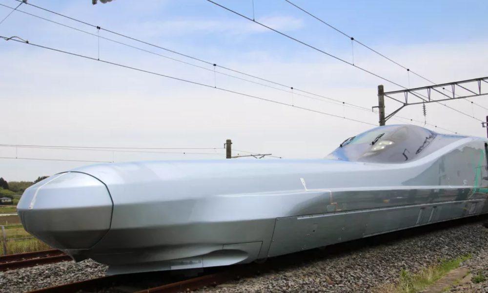 Le train Alpha X au Japon actuellement en phase de tests