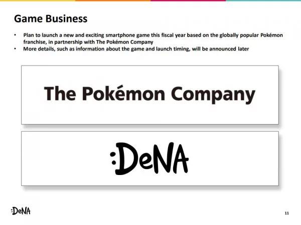 Annonce Jeu Pokémon DeNa