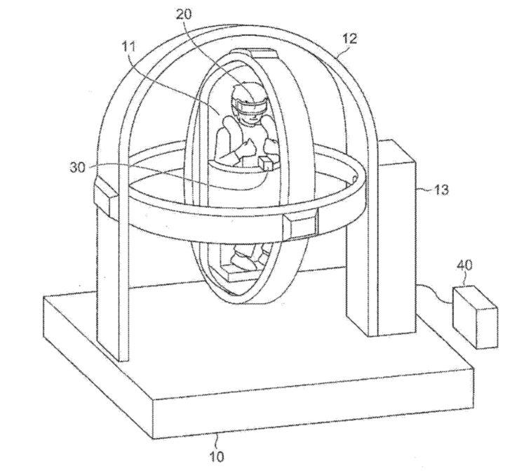 Brevet PlayStation VR Siege Gyroscopique