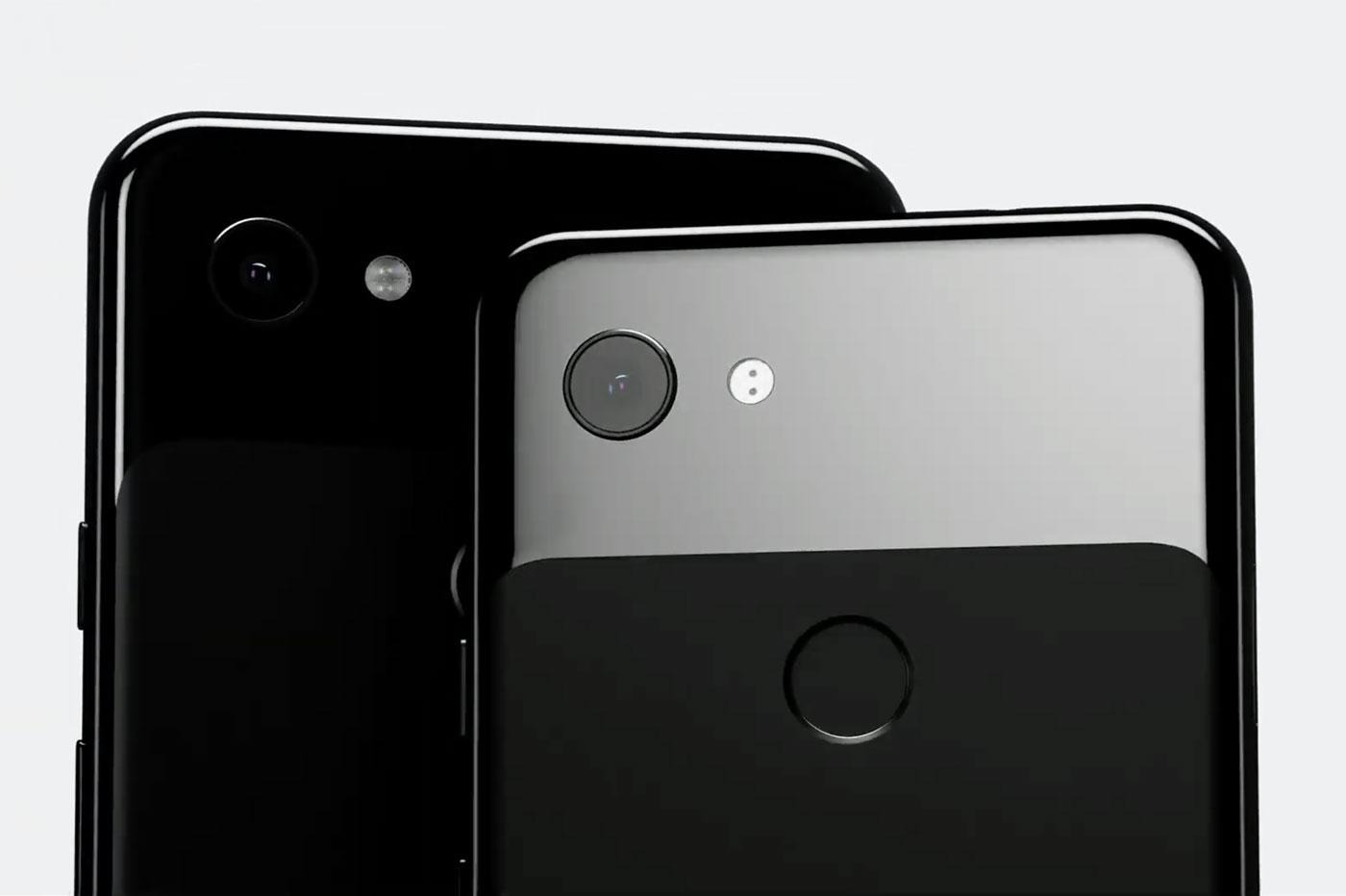 Appareil photo Pixel 3a