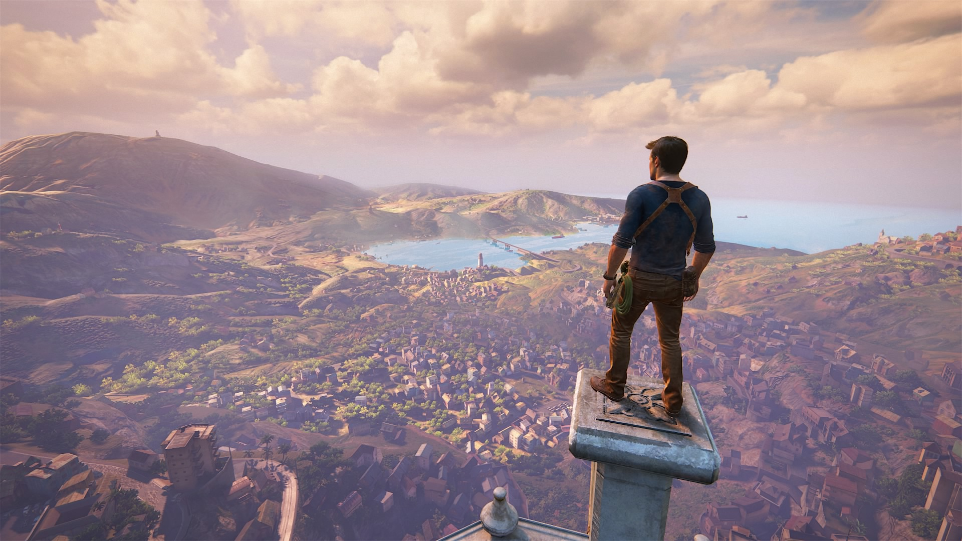 Capture écran Uncharted 4